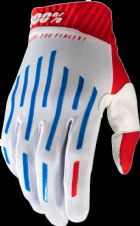 New 100% Ridefit Glove Red/White/Blue S M L XL Motocross